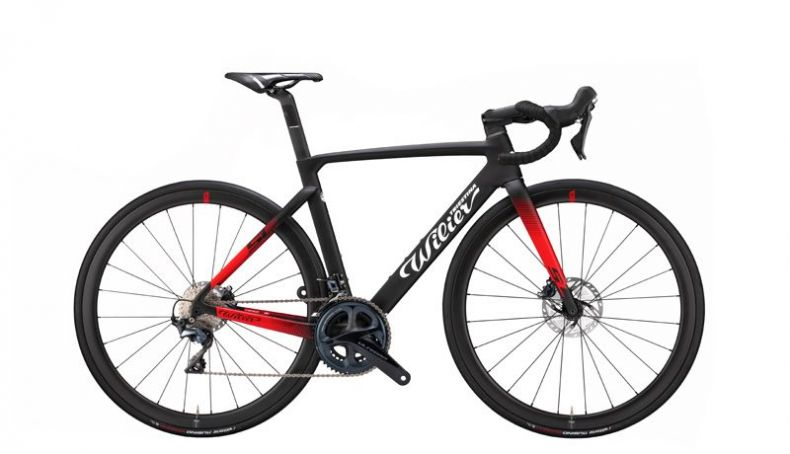 Wilier Cento10 SL, acabado Black Red