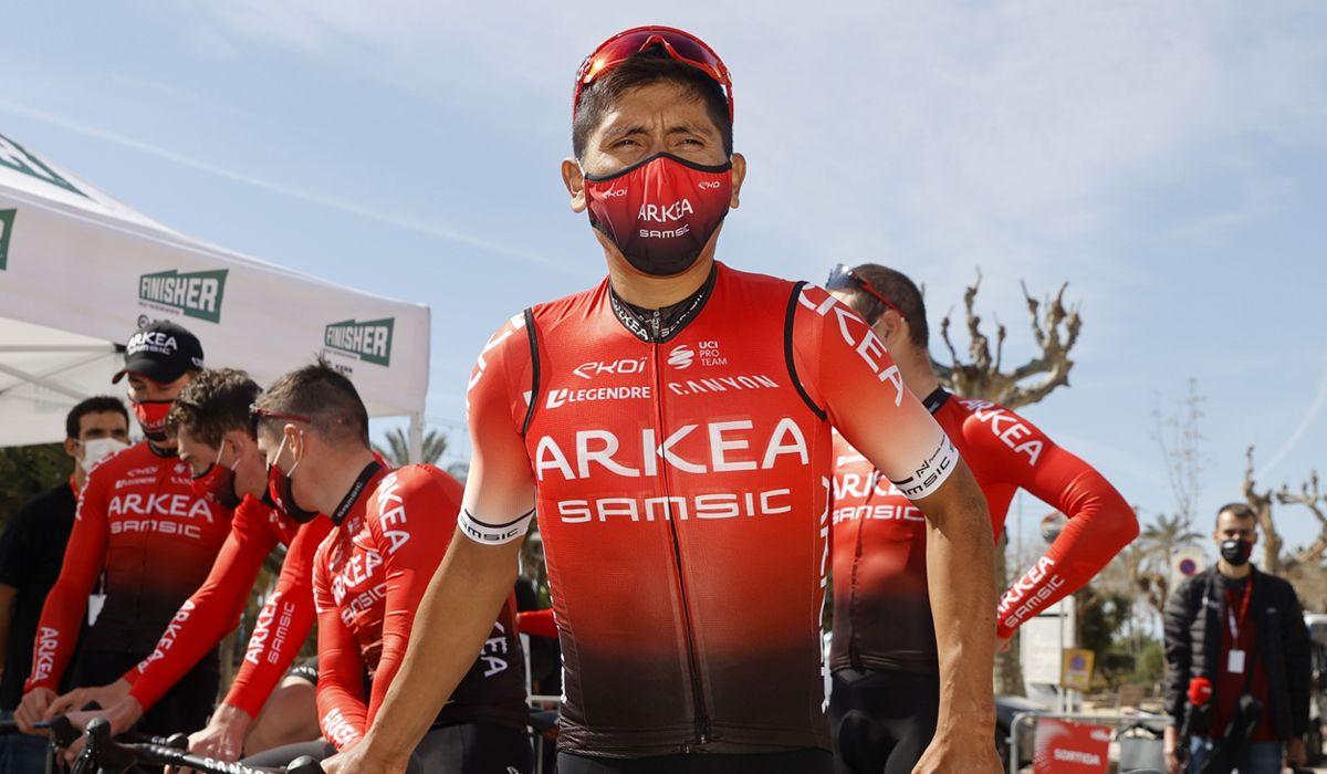 """Nairo Quintana: """"Voy a la Vuelta a Asturias con la intenc..."""