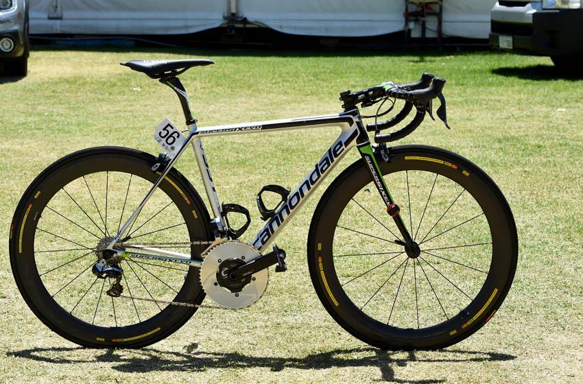 Galería: La supersix Evo Hi-Mod del sprinter del Cannondale