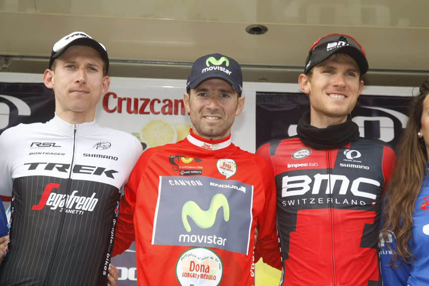 Exhibición de Valverde para ganar la Vuelta a Andalucía