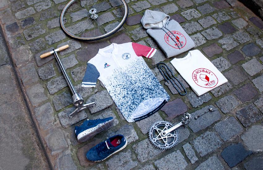 Le coq sportif celebra los 120 años de la París-Roubaix con una exclusiva colección limitada