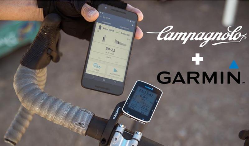 Campagnolo EPS V3 ya compatible con Garmin