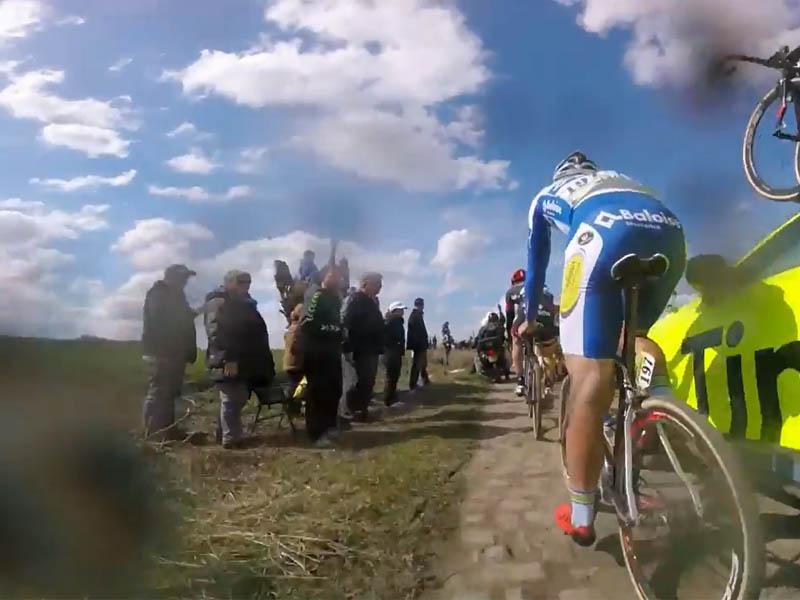 Los momentos finales de la París-Roubaix 2016 desde dentro