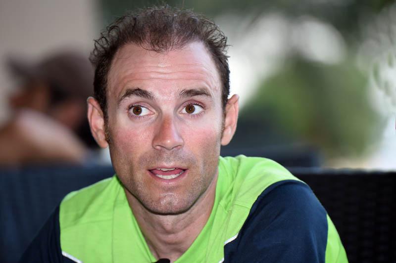 """Declaraciones de Valverde: """"Me encantaría que esta carrera se la llevase Betancur"""""""