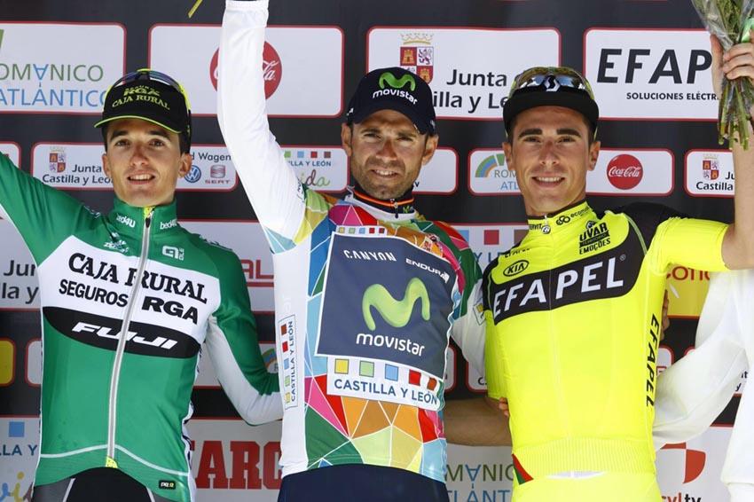 Vuelta a Castilla y León 3ª etapa: Alejandro Valverde, sin rivales