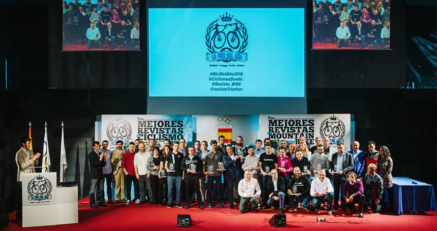 Los Premios de las Bicis del Año 2016 ya tienen nombre