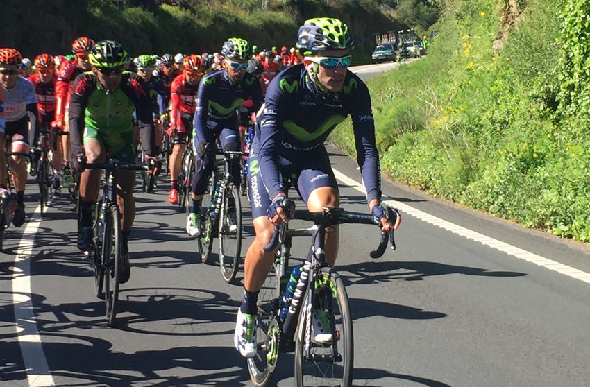 José Herrada, caída y retirada en la Vuelta a Asturias