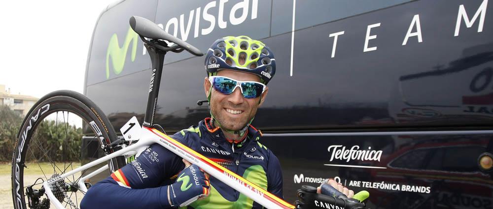 Valverde, ante su primer Giro