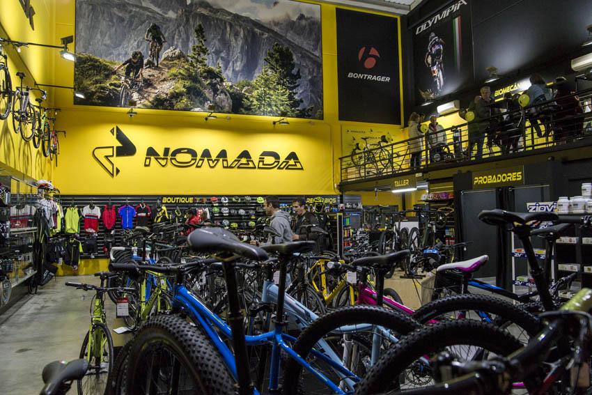 Inauguración de la tienda Nómada Bikes