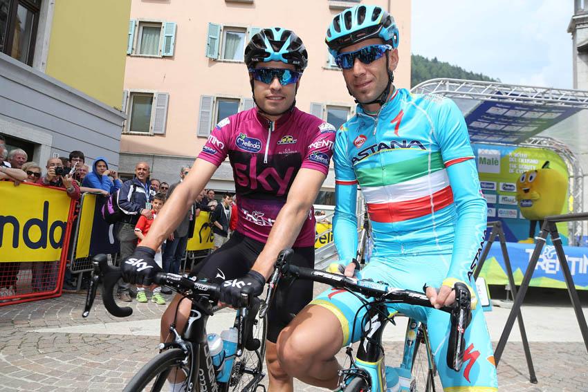 """Mikel Landa, a 24 horas del arranque del Giro: """"Nibali es el gran favorito"""""""