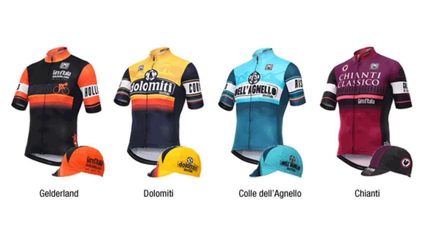 Santini presenta una colección especial con motivo del Giro de Italia