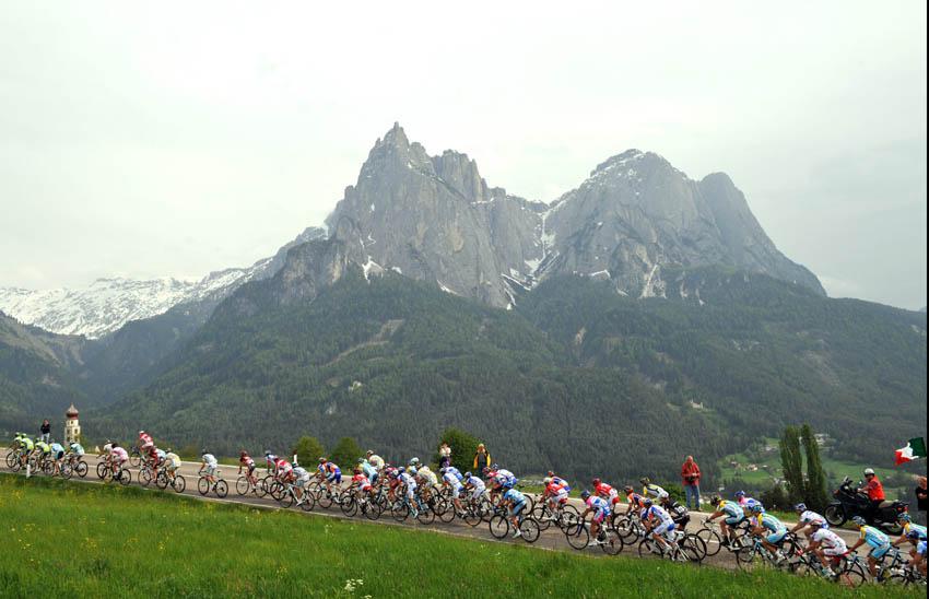 La montaña del Giro de Italia 2016
