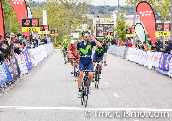 Lobato gana y se coloca como líder de la Vuelta a Madrid