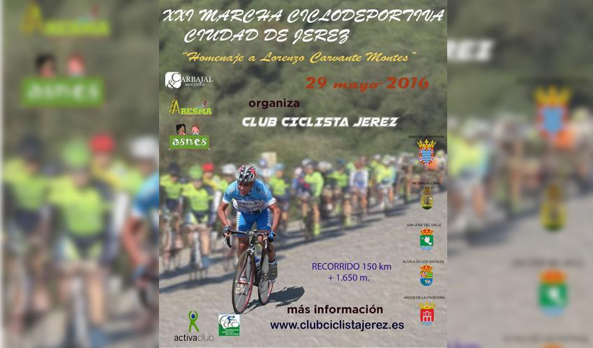 XXI Marcha Ciclodeportiva Ciudad de Jerez