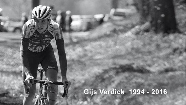 Gijs Verdick muere tras sufrir dos paros cardiacos