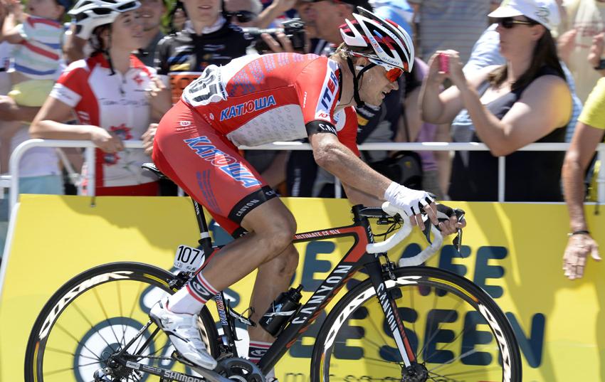La UCI levanta la sanción por dopaje a Vorganov
