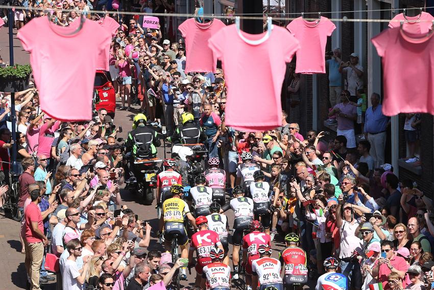 El Giro estaría muy cerca de salir desde Japón en 2018