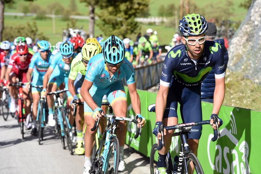 Caída y abandono de Javi Moreno en el Giro