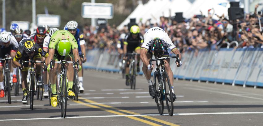 Peter Sagan, primer líder del Tour de California