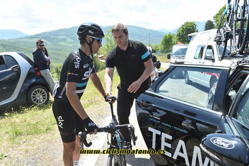Mikel Landa abandona el Giro de Italia