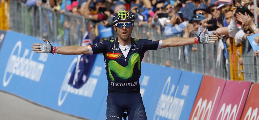Valverde remata con la victoria un espectáculo colosal