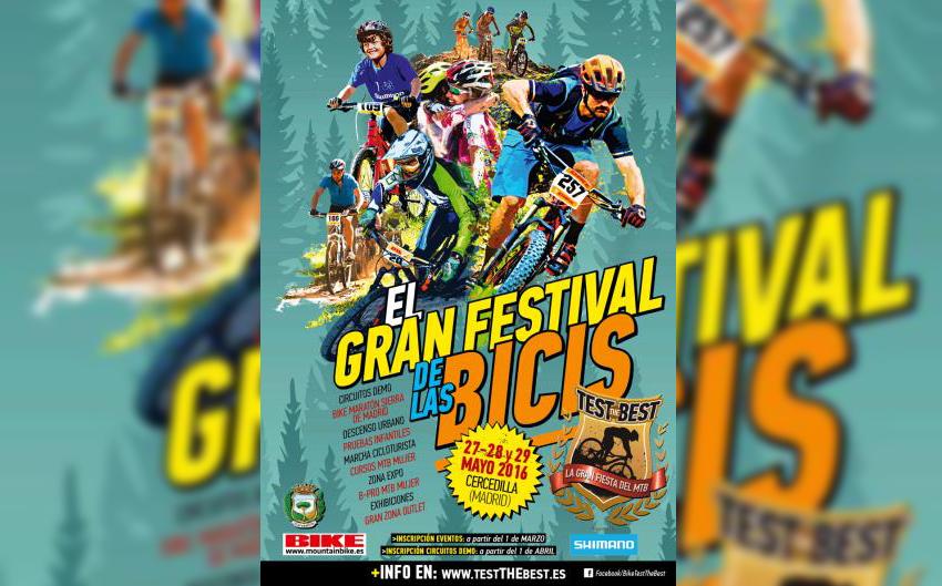 La fiesta del mountain bike regresa a Cercedilla con Test The Best by Shimano