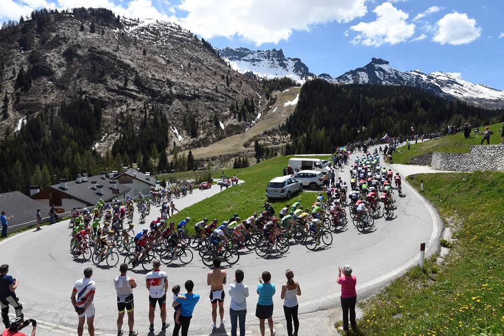 Las mejores fotografías del Giro de Italia 2016