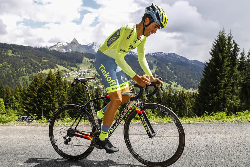 """Contador: """"Mi objetivo es seguir mejorando mi forma de cara al Tour"""""""
