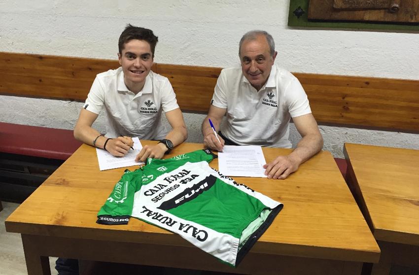 Jon Irisarri debutará como profesional con el Caja Rural-Seguros RGA.