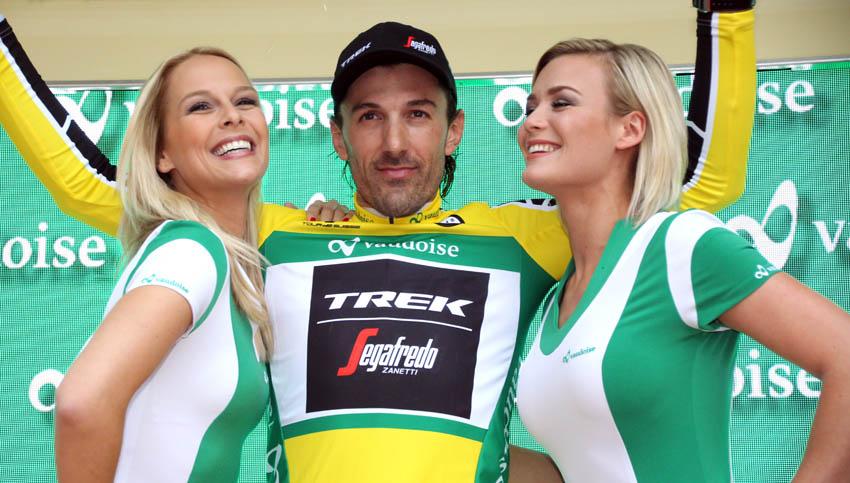 Cancellara, primer líder del Tour de Suiza