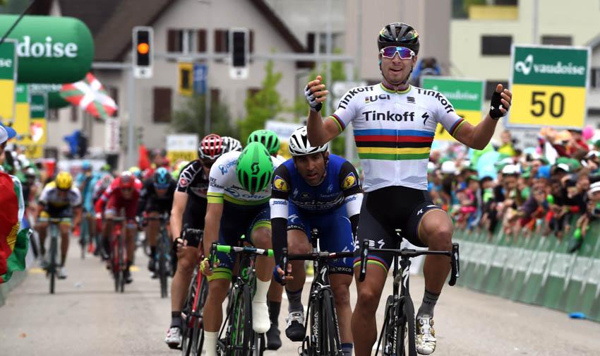 Sagan hace historia en Suiza