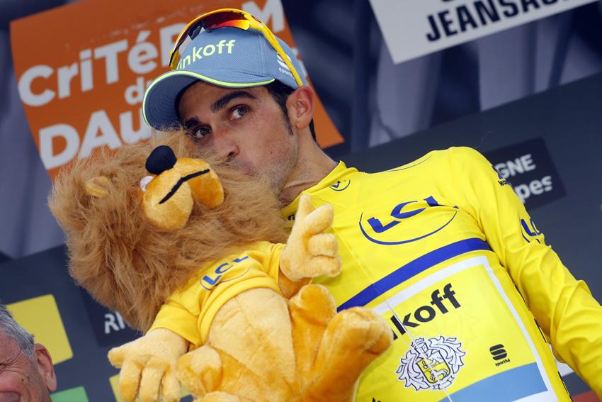 Alberto Contador, nuevo líder del World Tour
