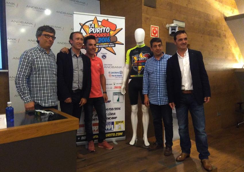 Presentada la 2º edición de La Purito Andorra 2016 – Gran Premio Andbank
