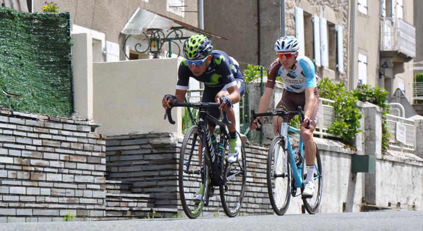 Quintana se luce en la primera etapa de la Route du Sud
