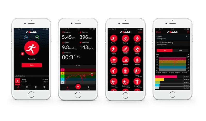 Nueva versión de la App Polar Beat