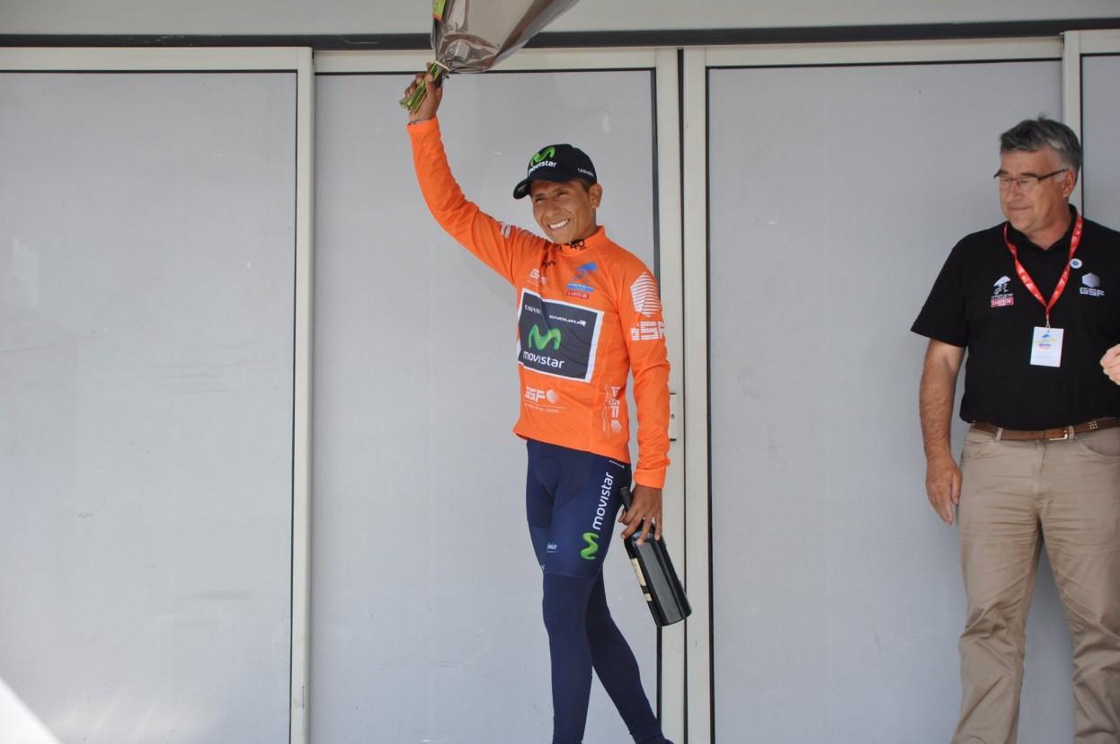 Quintana gana la contrarreloj de la Route du Sud