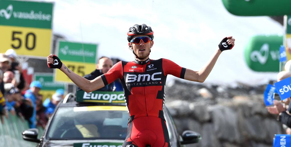 Van Garderen se hace con la etapa reina y Barguil con el liderato