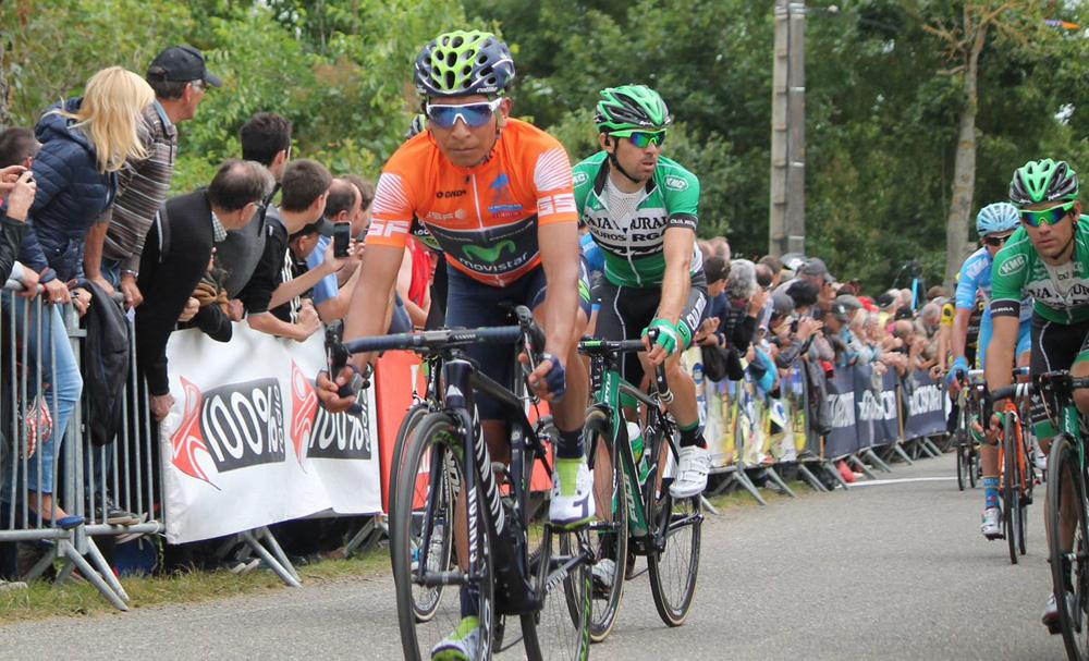 Quintana certifica su victoria en la Route du Sud