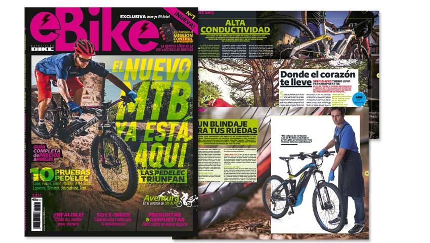 Ahora puedes conseguir la nueva revista eBike