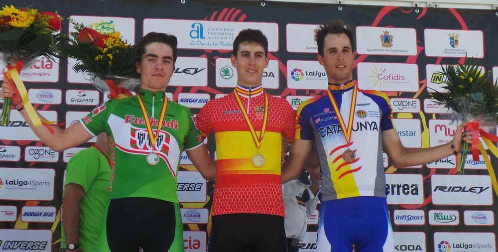 Oscar Pelegrí, del bronce al oro en el Campeonato de España sub23