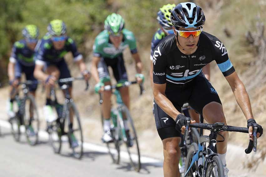 """Mikel Landa, antes de debutar en el Tour: """"Voy a aprender del mejor corredor: Chris Froome"""""""
