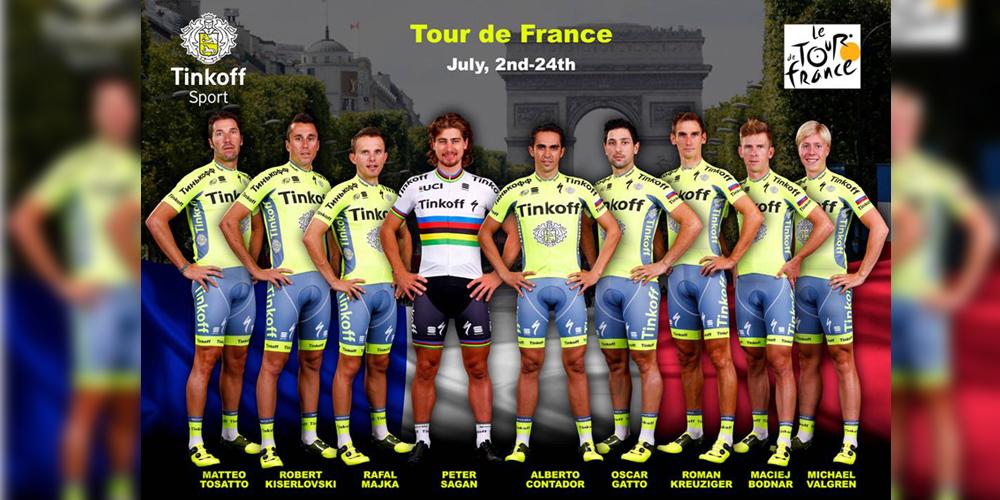 Alberto Contador ya conoce su guardia para el Tour de Francia