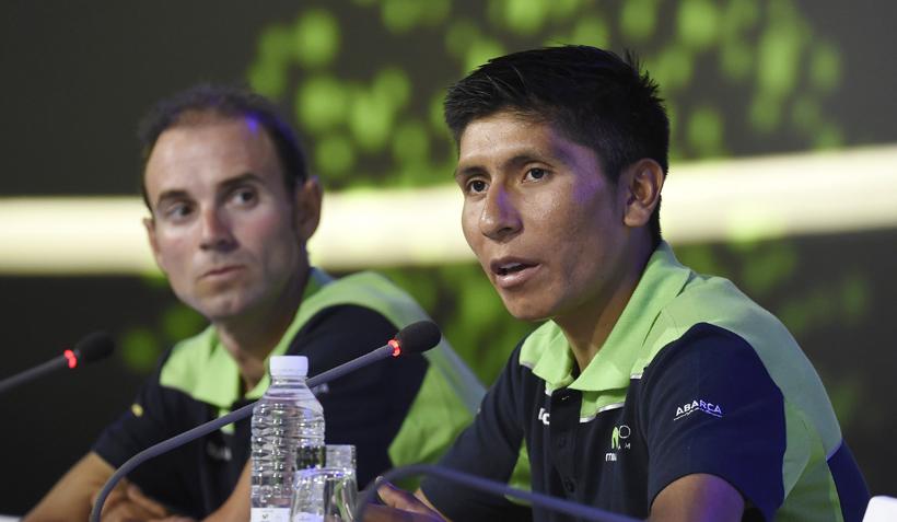 "Nairo Quintana: ""Espero aguantar el ataque de Froome"""