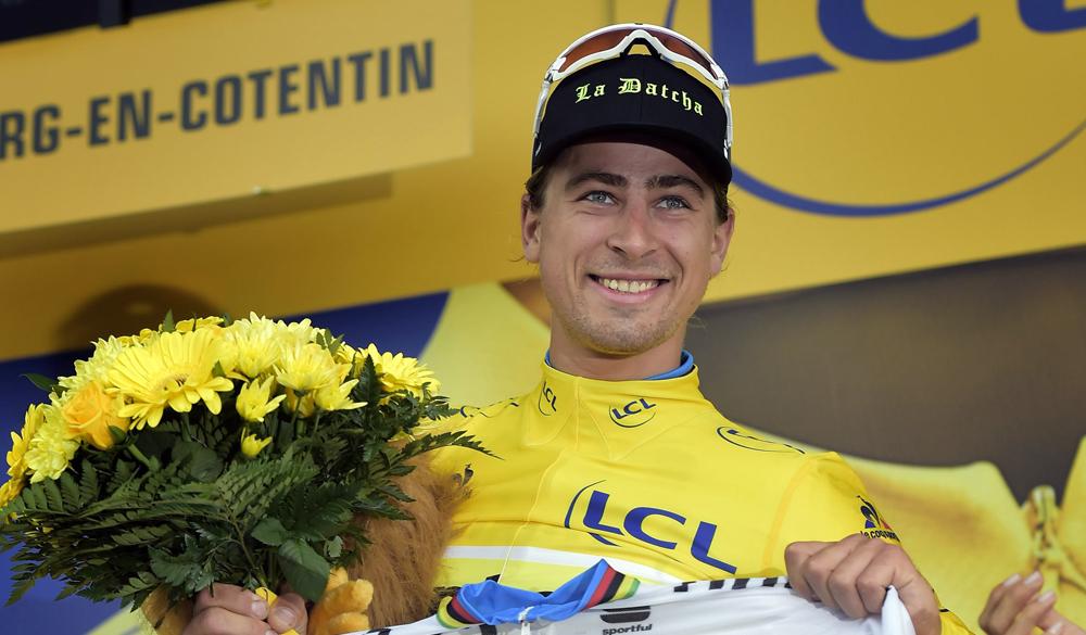 Sagan se reconcilia con el Tour: victoria y amarillo