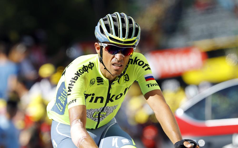 Movistar pone a prueba a los favoritos; Contador sufre