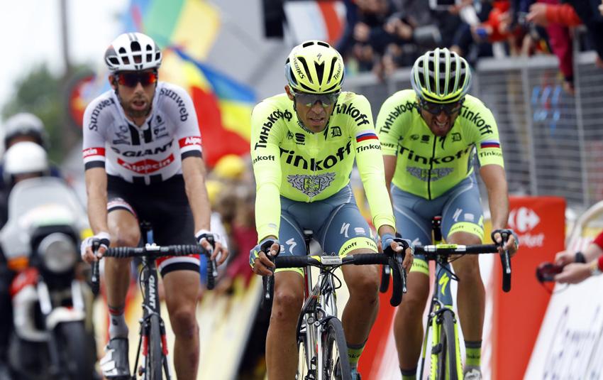 """Contador: """"Kreuziger no obedeció ayer las órdenes de equipo"""""""