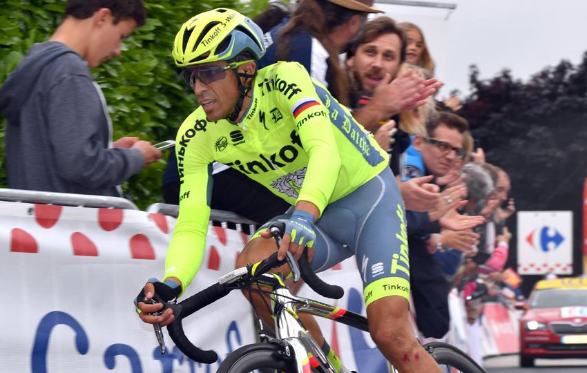 """Contador: """"La etapa se me ha hecho muy dura y muy exigente"""""""