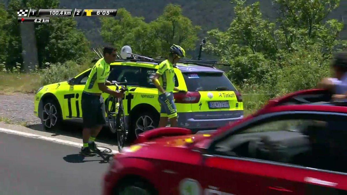 Vídeo: Alberto Contador abandona el Tour de Francia