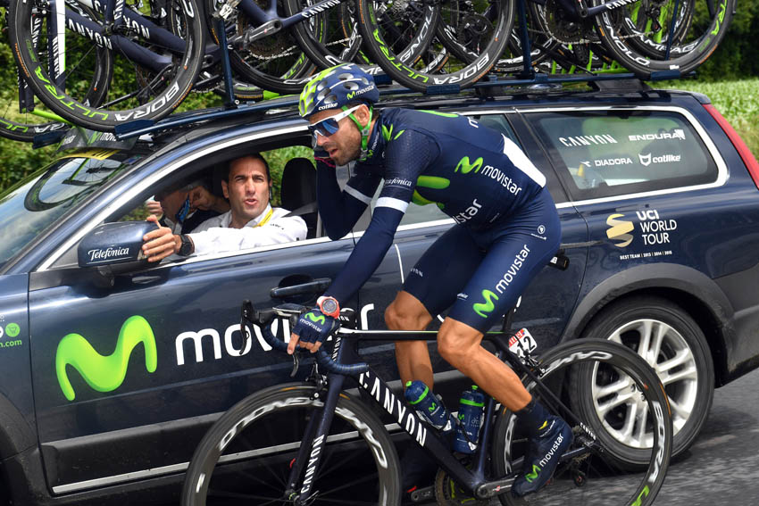 """Valverde: """"¿Que Froome está intratable? Nairo también"""""""