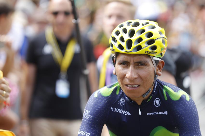 """Quintana: """"Hemos librado el día más difícil para mí del Tour"""""""